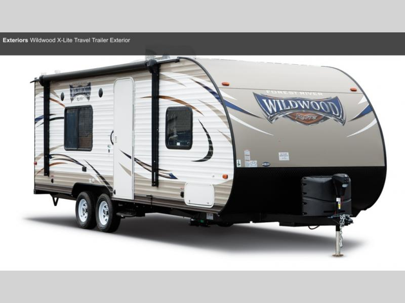 New 2019 Forest River Rv Wildwood 37bhss2q Travel Trailer