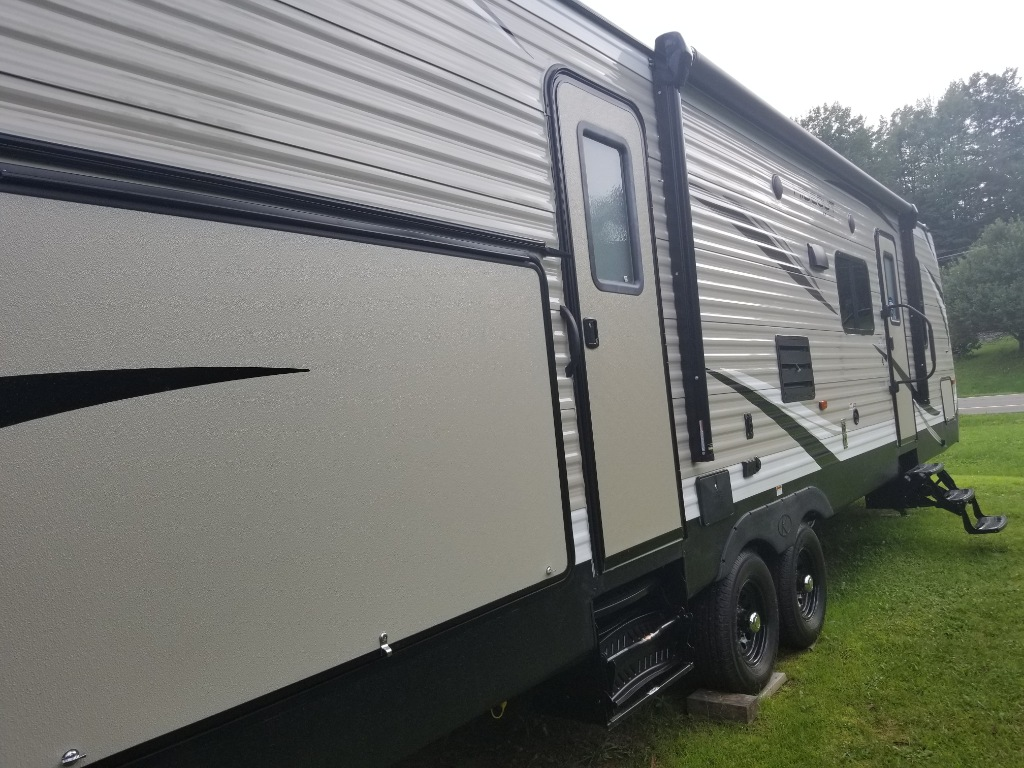 New 2019 Keystone Rv Hideout 31rbds Travel Trailer At Olivers Cable Tv Wiring Diagram Next