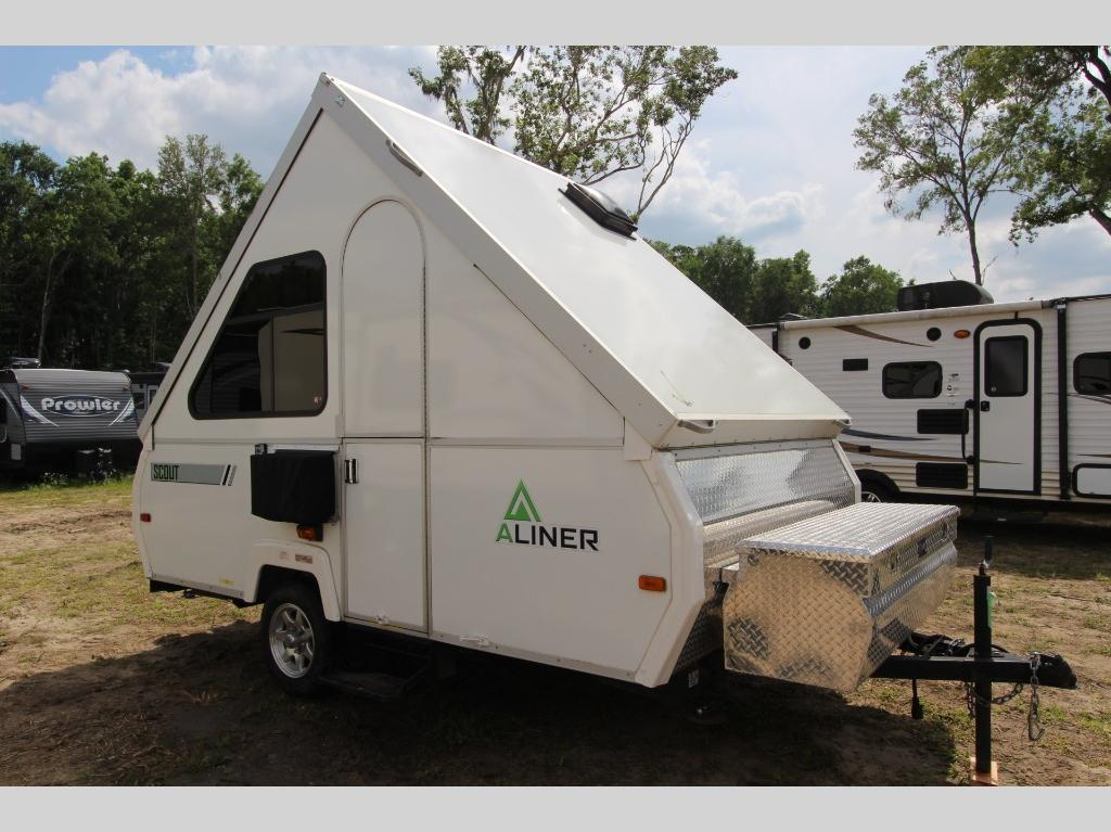 Used 2014 ALiner Scout Scout Folding Pop-Up Camper at