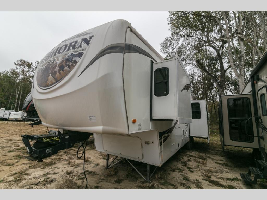 Used 2012 Heartland Silverado 33rl Fifth Wheel At Optimum