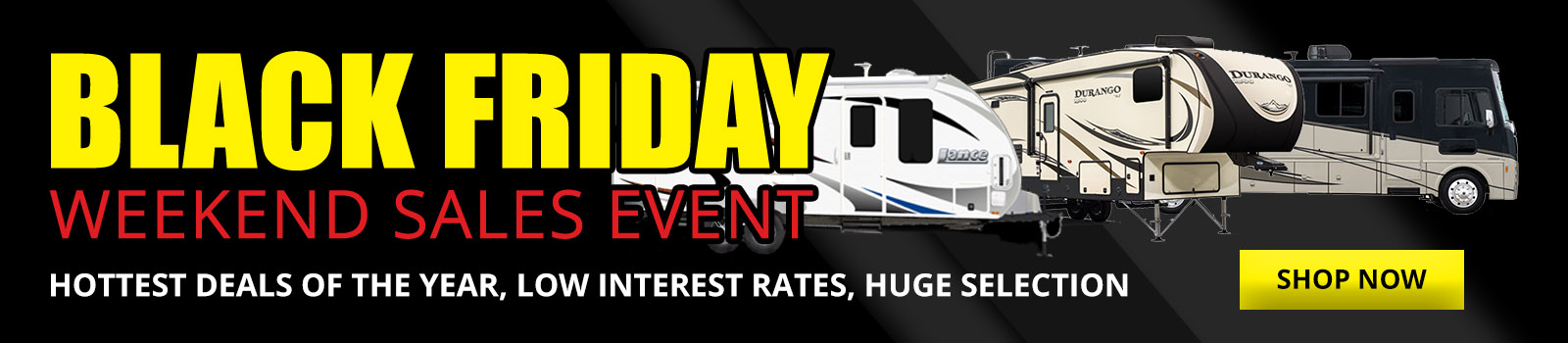 Black Friday Weekend Sales Event