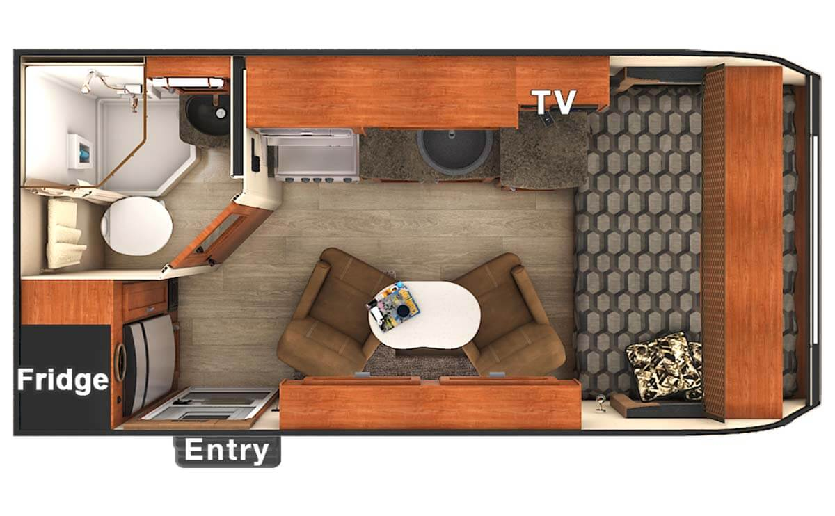 Coleman Travel Trailers Floor Plans >> Lance 1475 Travel Trailer - Simplification.... Identify what is important to you, eliminate the ...