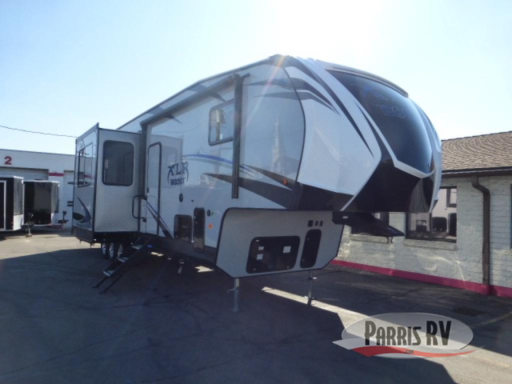 New 2020 Forest River RV XLR Boost 37TSX13 Toy Hauler Fifth