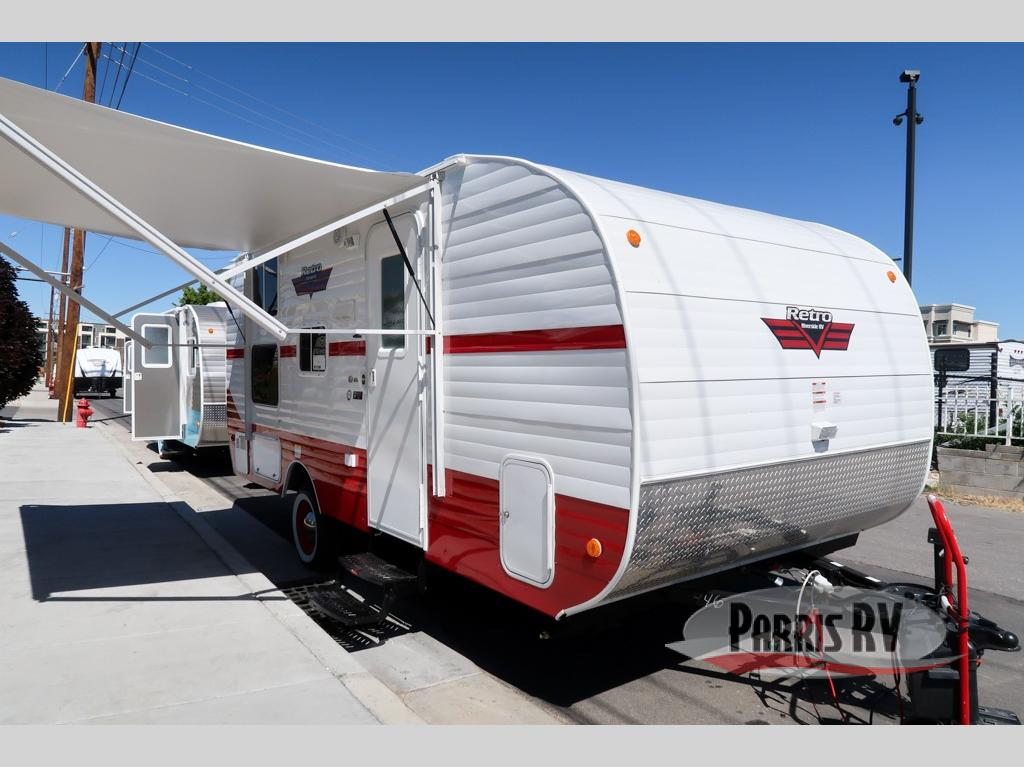 New 2020 Riverside RV Retro 190BH Travel Trailer at Parris