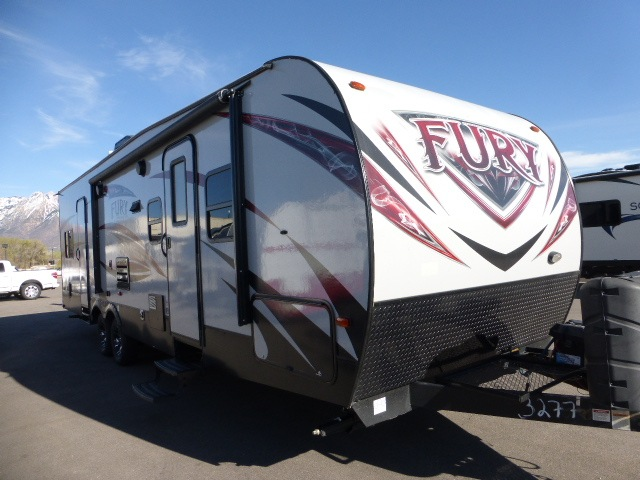 Used Toy Hauler Travel Trailers - Walk-Thru Bath
