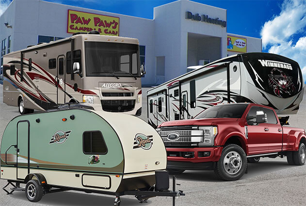 Used Cars Hattiesburg Ms >> RV Dealer in Mississippi | RV Sales, Parts, & Service | Paw Paw Campers and Cars