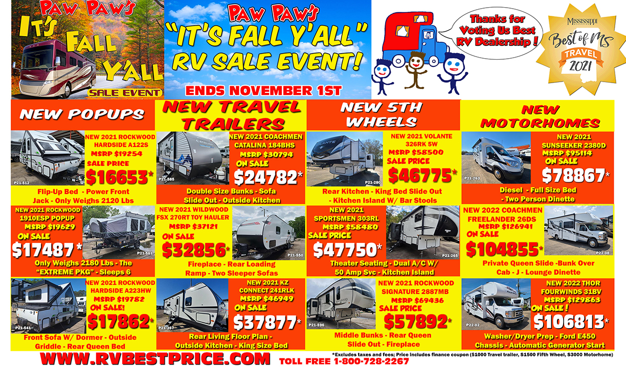 Fall Sale Event