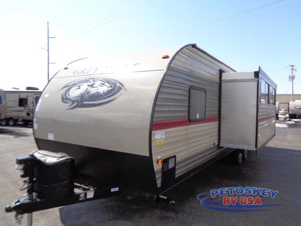 New 2019 Forest River RV Cherokee Grey Wolf 29BH Travel Trailer at