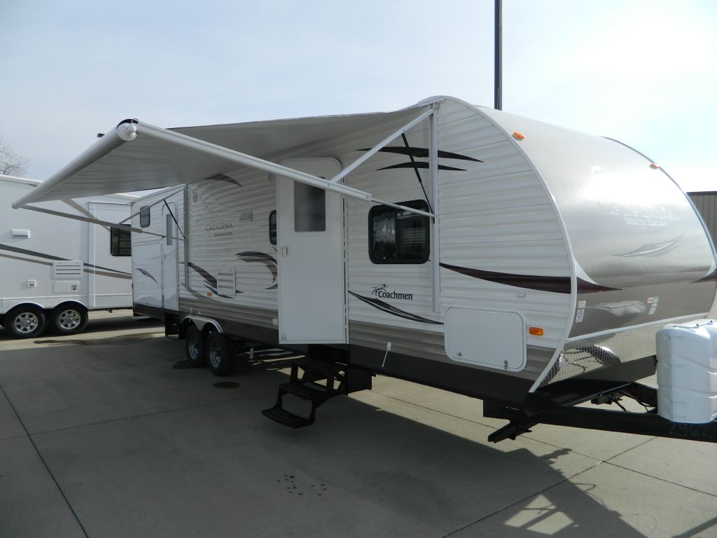 New 2012 Coachmen Rv Catalina Deluxe Edition 32bhds Travel