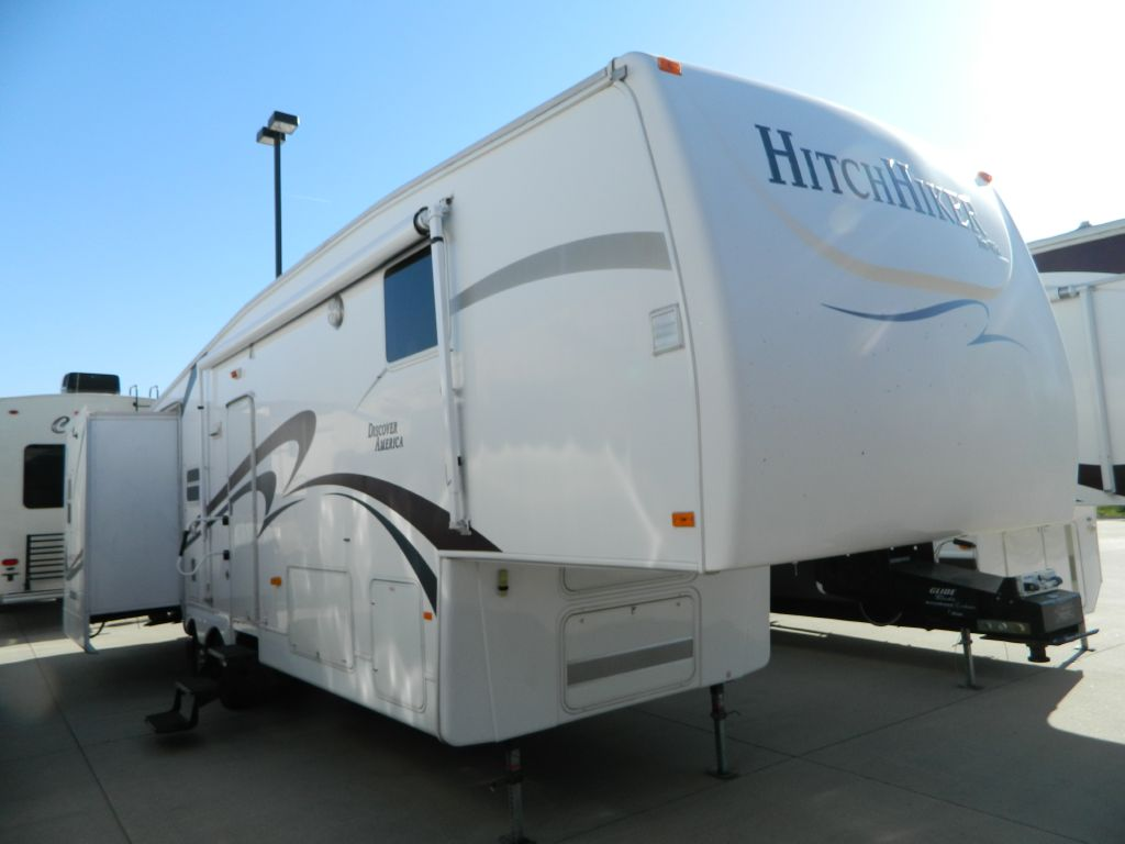 Used 2007 Nuwa Hitchhiker Discover America 339 Rsb Fifth