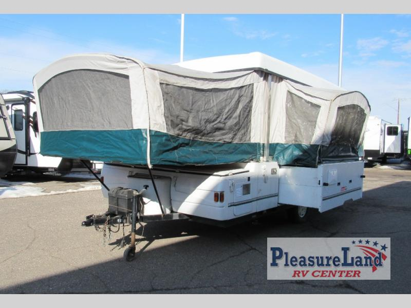 Used 2001 Fleetwood RV Coleman Bayside Elite Folding Pop-Up