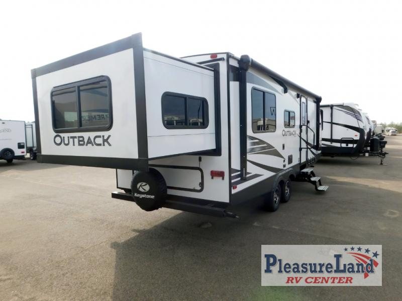 New 2020 Keystone Rv Outback Ultra Lite 240urs Toy Hauler Travel Trailer At