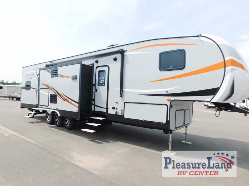 New 2018 Kz Sportster 362th12 Toy Hauler Fifth Wheel At