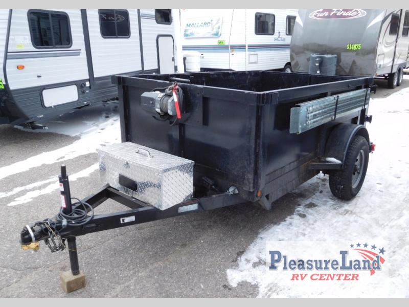Used 2018 Rogers Welding Dump Trailer 5x8 Utility Trailer at