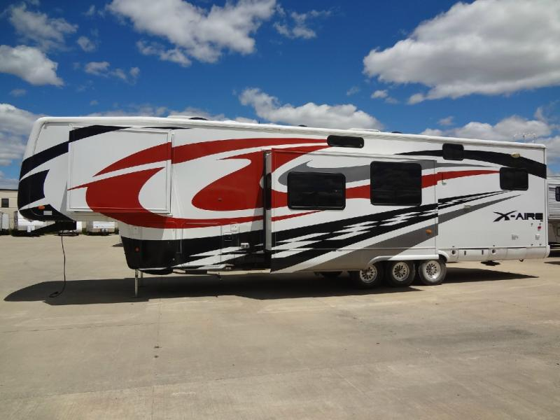 Used 2009 Newmar X Aire 40cksh Toy Hauler Fifth Wheel At