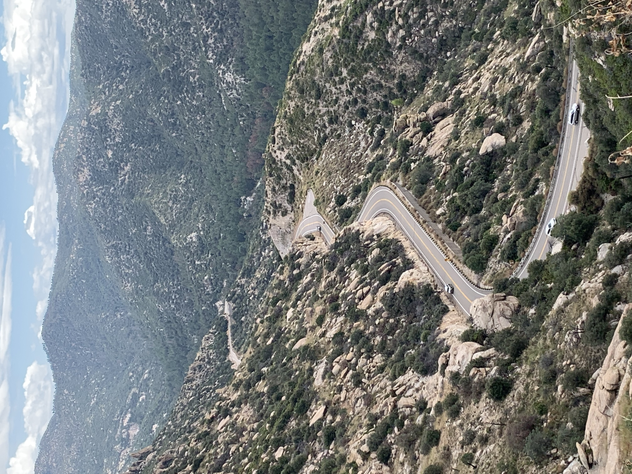 The Road to Mount Lemmon