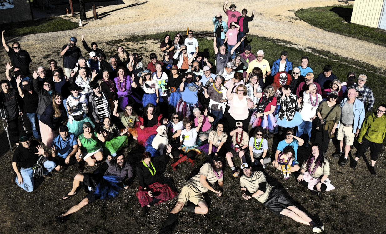 Texas Truck Camper Attendee Group Photo | 2021