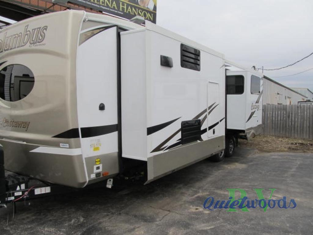 New 2019 Forest River RV COLUMBUS 86FK Travel Trailer at Quietwoods