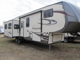 New 2018 Forest River RV Wildwood Heritage Glen 337BAR Photo