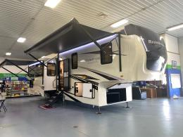 New 2021 Forest River RV RiverStone Reserve Series 3850RK Photo