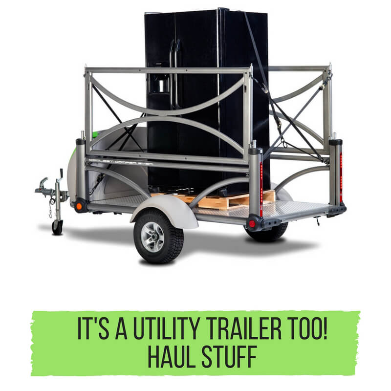 It's a utility trailer too!