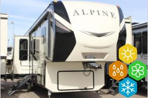 New 2019 Keystone RV Alpine 3850RD Photo