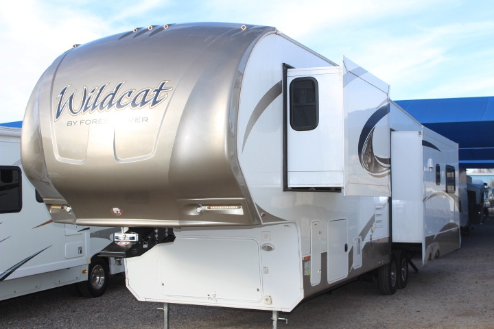 Used 2016 Forest River Rv Wildcat 327ck Fifth Wheel At