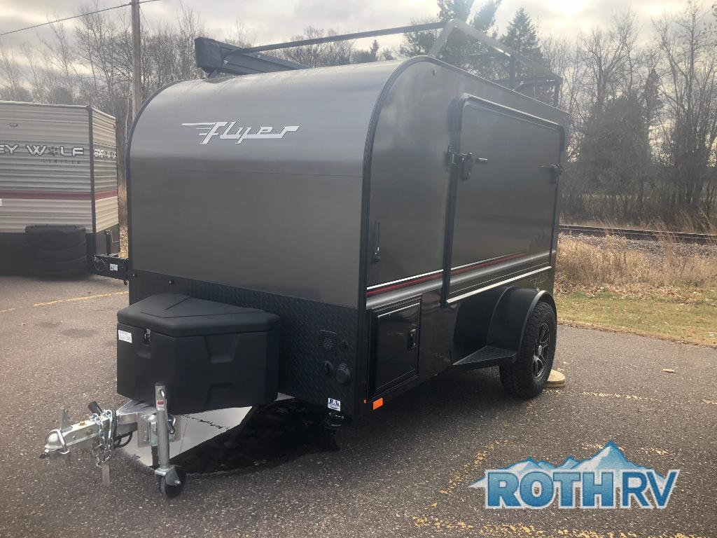 New 2019 inTech RV MAX Flyer Black Explore Travel Trailer at