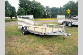 New 2021 Trophy Trailers Aluminum Tip In 7 X 14 Single Axle Photo