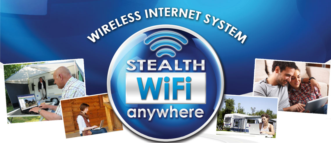 Stealth Wifi - Wireless Internet System available at RV City