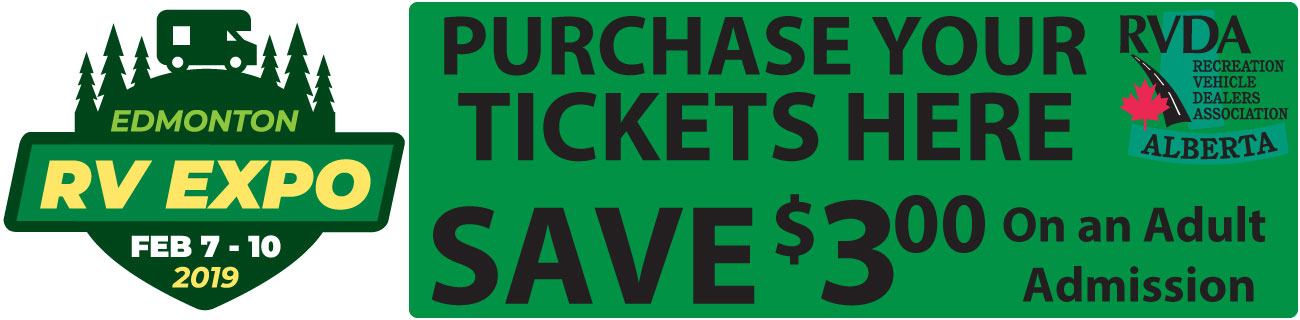 Advanced Ticket Sales - RV CITY in Morinville and Nisku