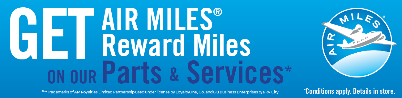 Get AIR MILES Reward Miles at RV City