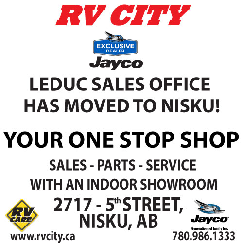 LEDUC SALES OFFICE HAS MOVED TO NISKU