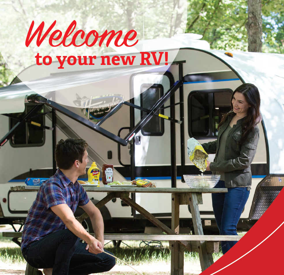 Welcome to your New Jayco RV