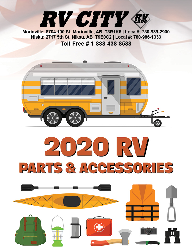 RV City Online Parts and Camping Accessories catalogue