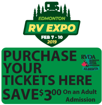 Purchase edm rv expo tickets at RV City in Morinville and Nisku locations