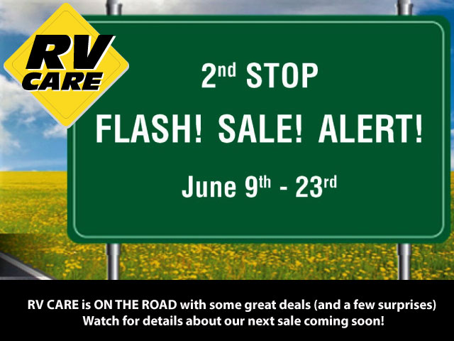 RV Care JUne 2018 National Sales Event at RV City