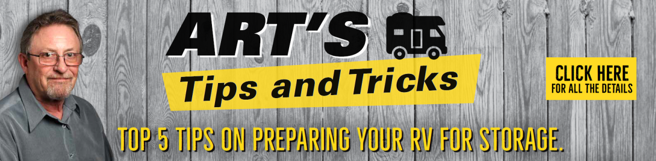 Arts Tip N Tricks - Preparing your RV for Winter