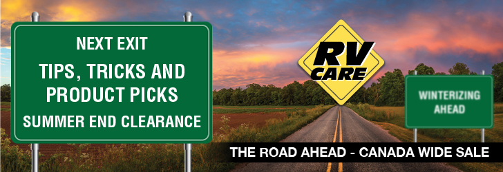 Sept 8th - Oct 31st RV CARE Sales Event