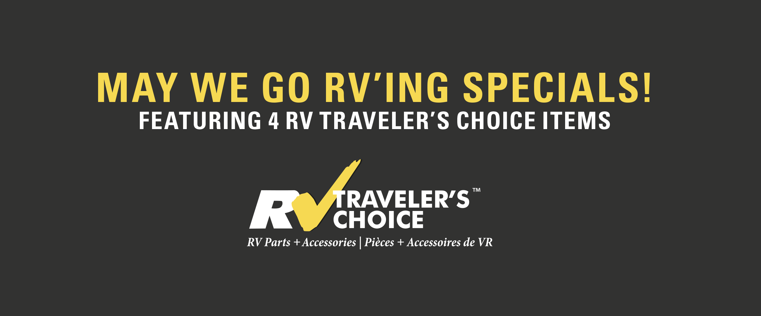 rv care travelers choice specials