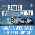 RV Care Sales Event July 1 to 31, 2019