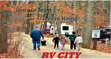 RV City is hiring