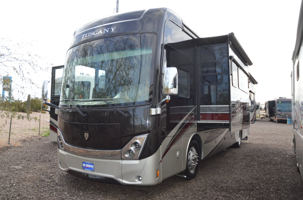 Used 2018 Thor Motor Coach Tuscany 38SQ Motor Home Class A