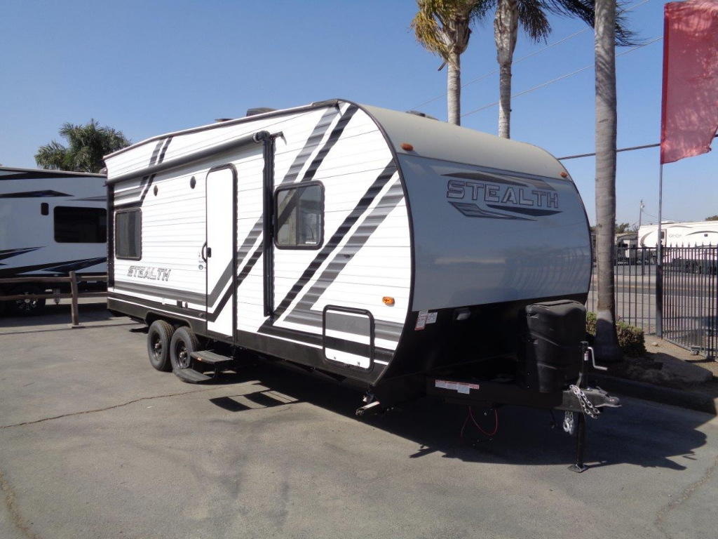 Stealth Toy Hauler >> New 2020 Forest River Rv Stealth Sport Series Ss1814 Toy Hauler Travel Trailer