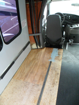 Floor Replaced with New Flooring