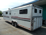 Horse Trailer Complete Paint Job.