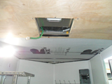 Trailer Air Condtitioner and Insulation Installation.