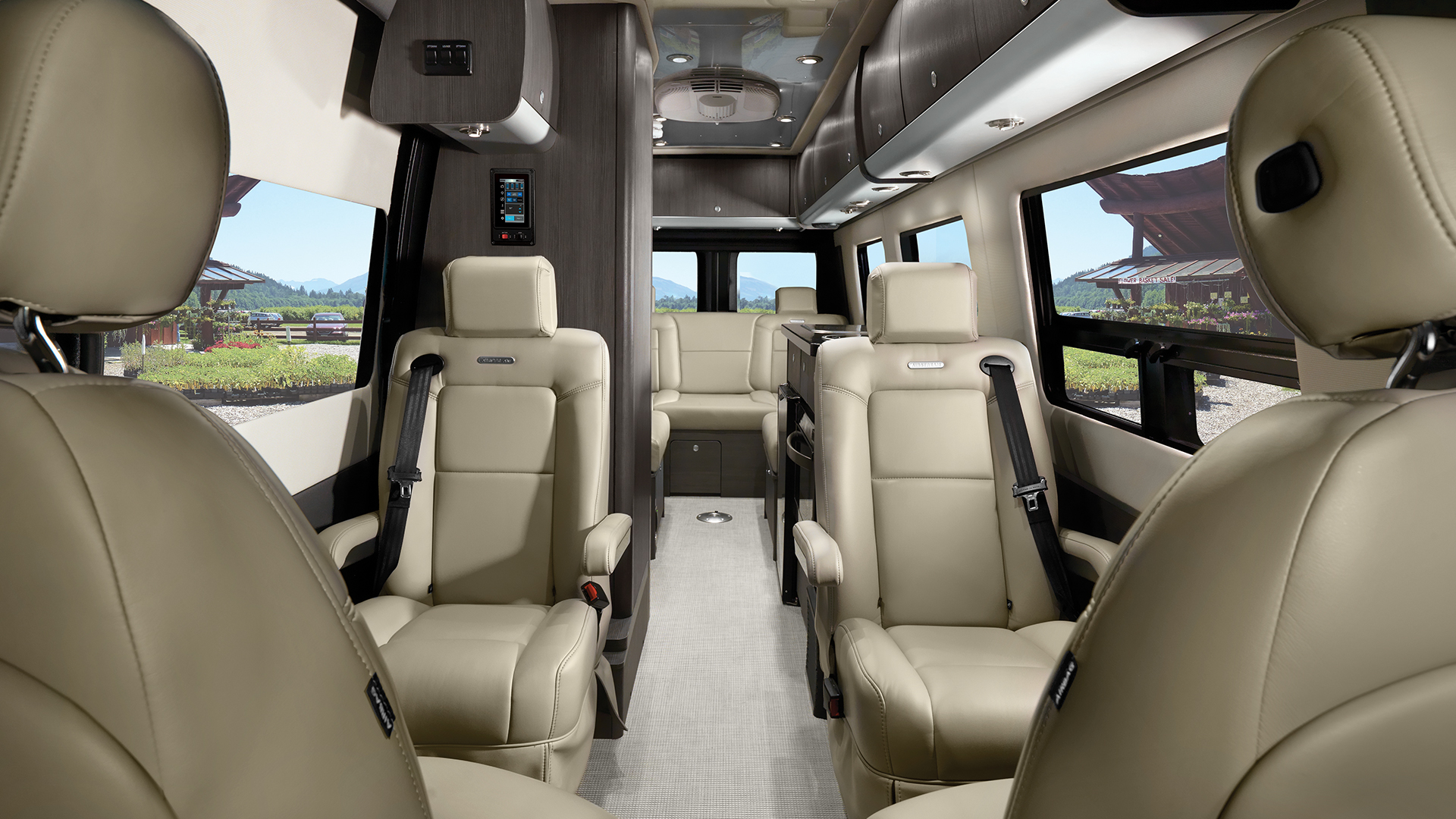 Airstream Interstate Lounge EXT Interior Seats