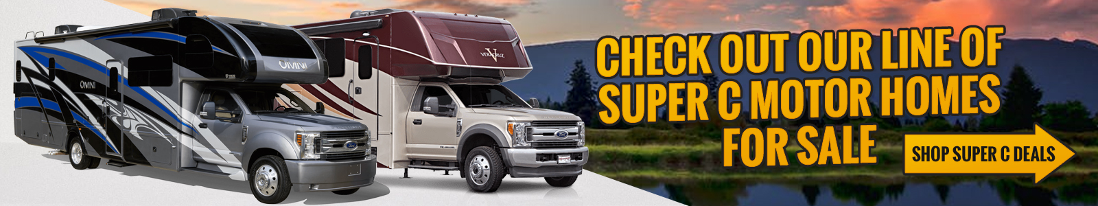 Shop our Super C RVs