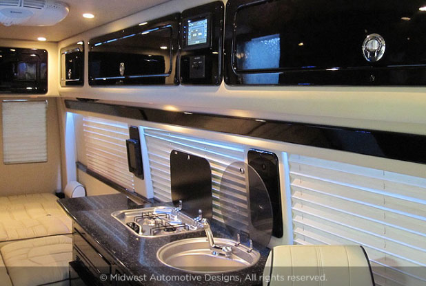 Midwest Automotive Weekender Sprinter RV Camper Van